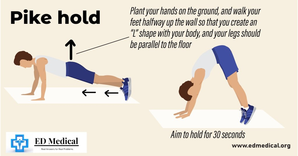 "illustration showing ""How to do Pike Hold?"""