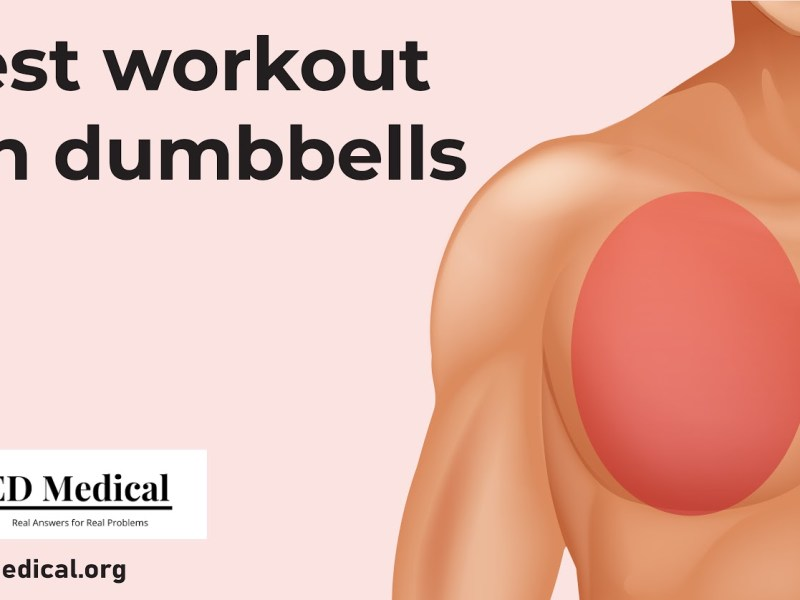 chest workouts with dumbbell for men