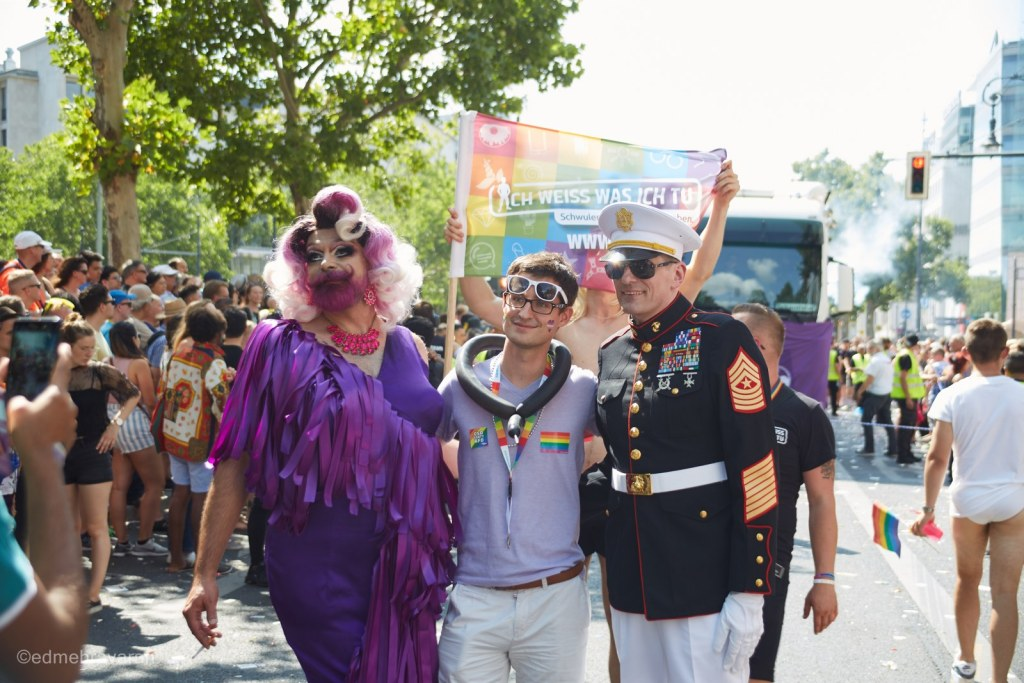 """The motto of the event was """"Stonewall 50 - Every riot starts with your voice""""."""