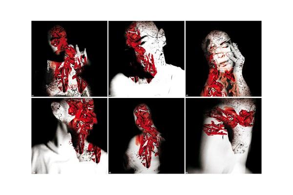 AIDS Photo series-HIV photo collage
