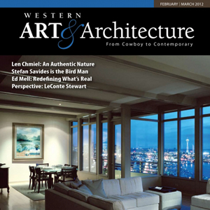 Ed Mell, Western Art & Architecture, February/March, 2012