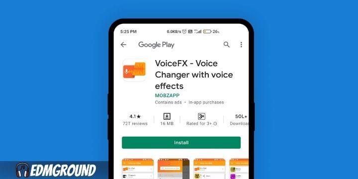 VoiceFX – Voice Changer