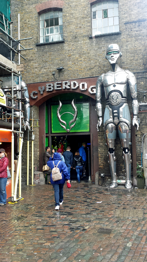 Cyberdog Store in Camden Town, London, UK