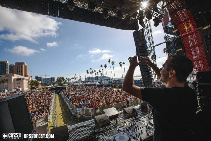 Sam Feldt at CRSSD Fall 2016; Photo by Felicia Garcia