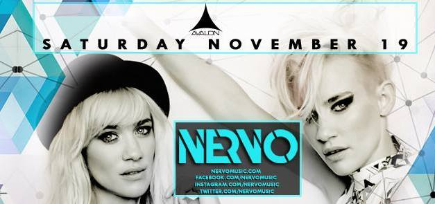 Nervo @ Avalon Hollywood    Preview & Giveaway