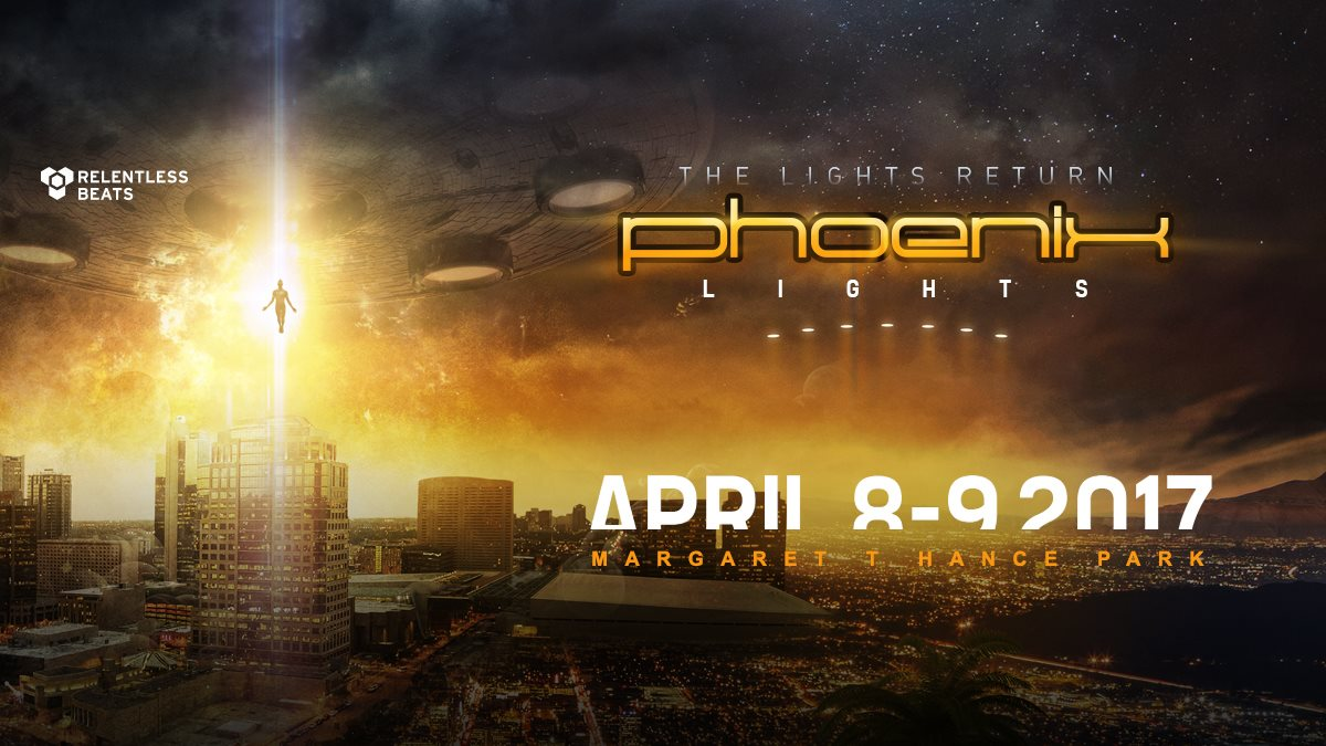 Phoenix Lights 2017 || Unexpected Venue Change!