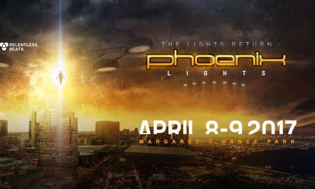Phoenix Lights 2017 || Unexpected Venue Change!