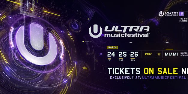 Ultra Music Festival 2017 || Phase One Lineup Announced!