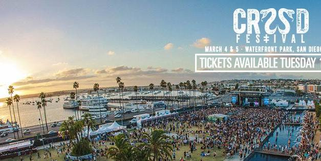 CRSSD Festival Spring 2017 || Phase 1 Lineup Released