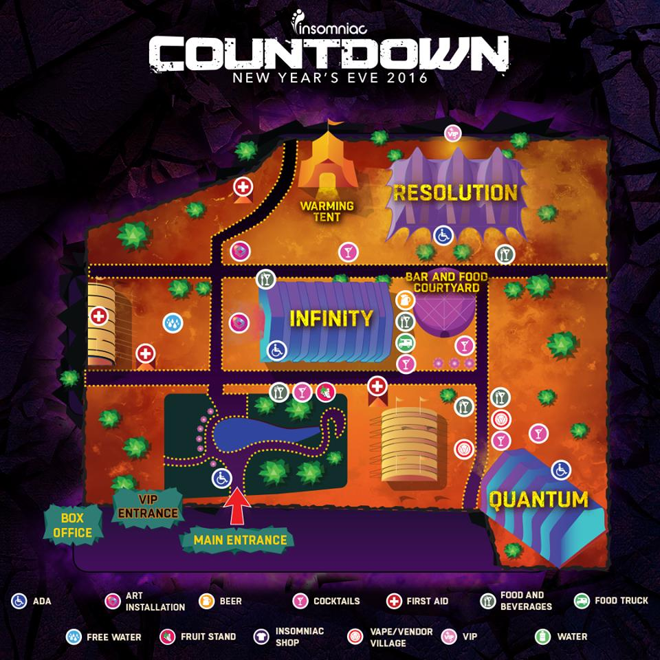 countdown 2016 festival map