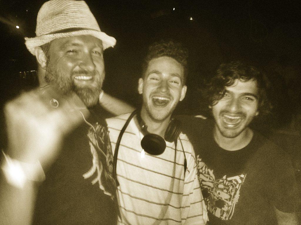 Claude VonStroke, Ardalan, and Justin Jay