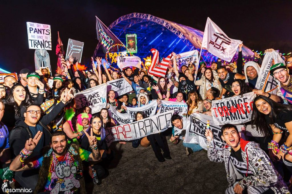 Dreamstate SoCal 2016 Trance Family Photo