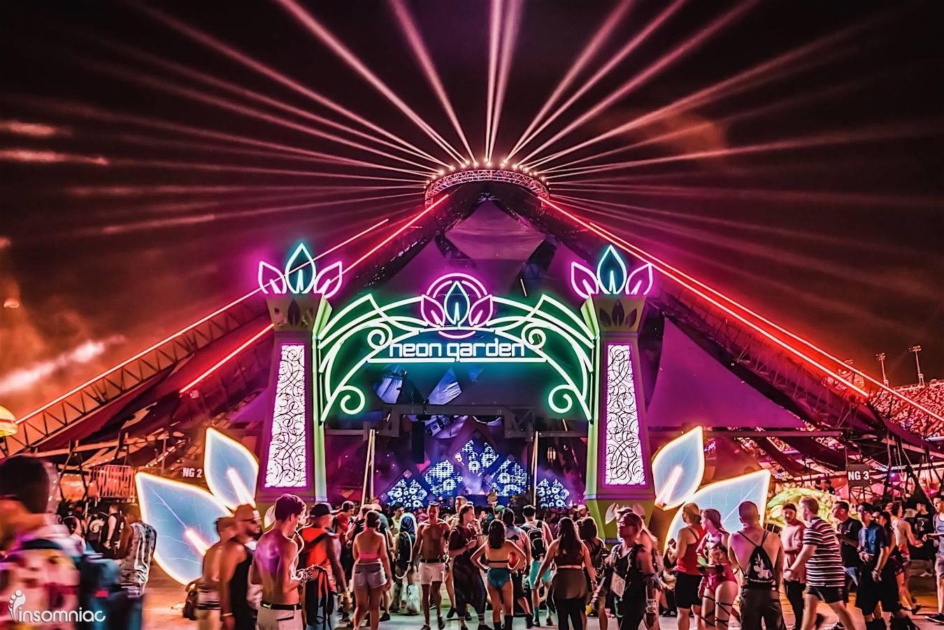 Factory To Host NeonGARDEN Stage At EDC Las Vegas - Edc las vegas map 2016