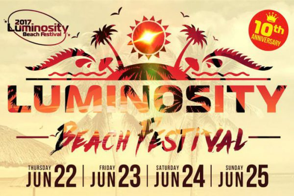 Luminosity Beach Festival 2017 || Lineup Announced!