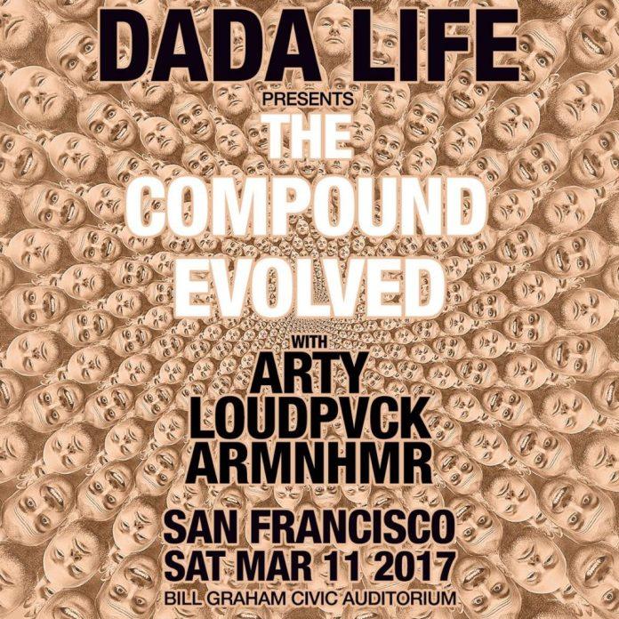 Dada Life: The Compound Evolved SF
