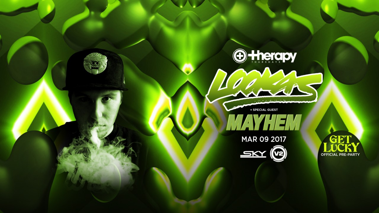 Lookas @ Therapy Thursdays || Event Preview