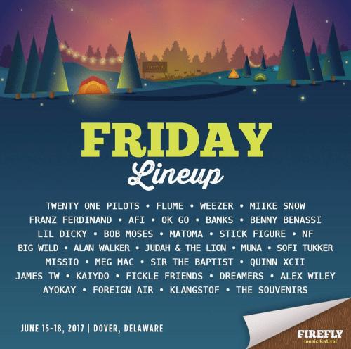 Firefly Music Festival 2017 - FridayFirefly Music Festival 2017 - Friday