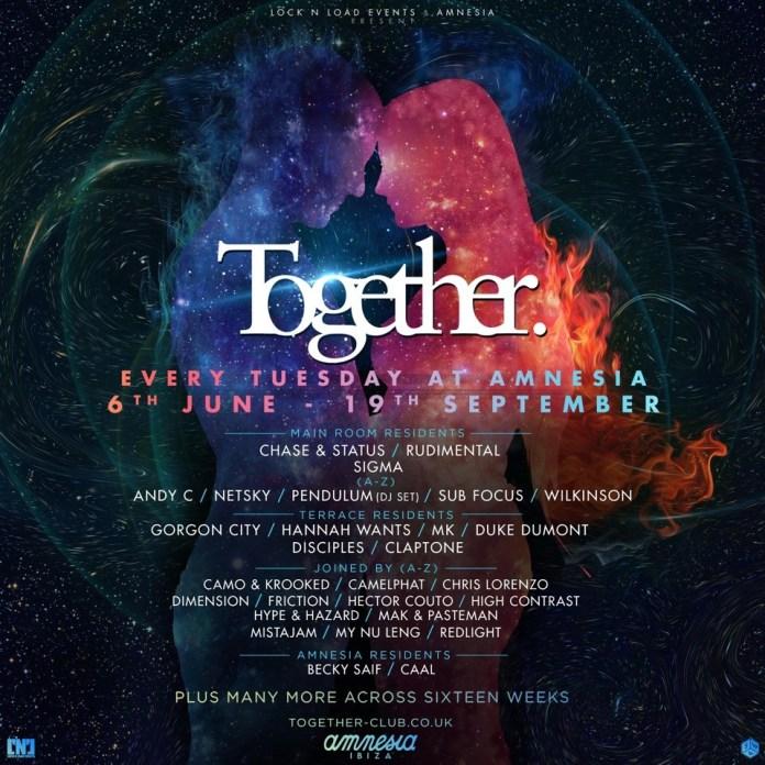 Together Amnesia Ibiza Summer 2017