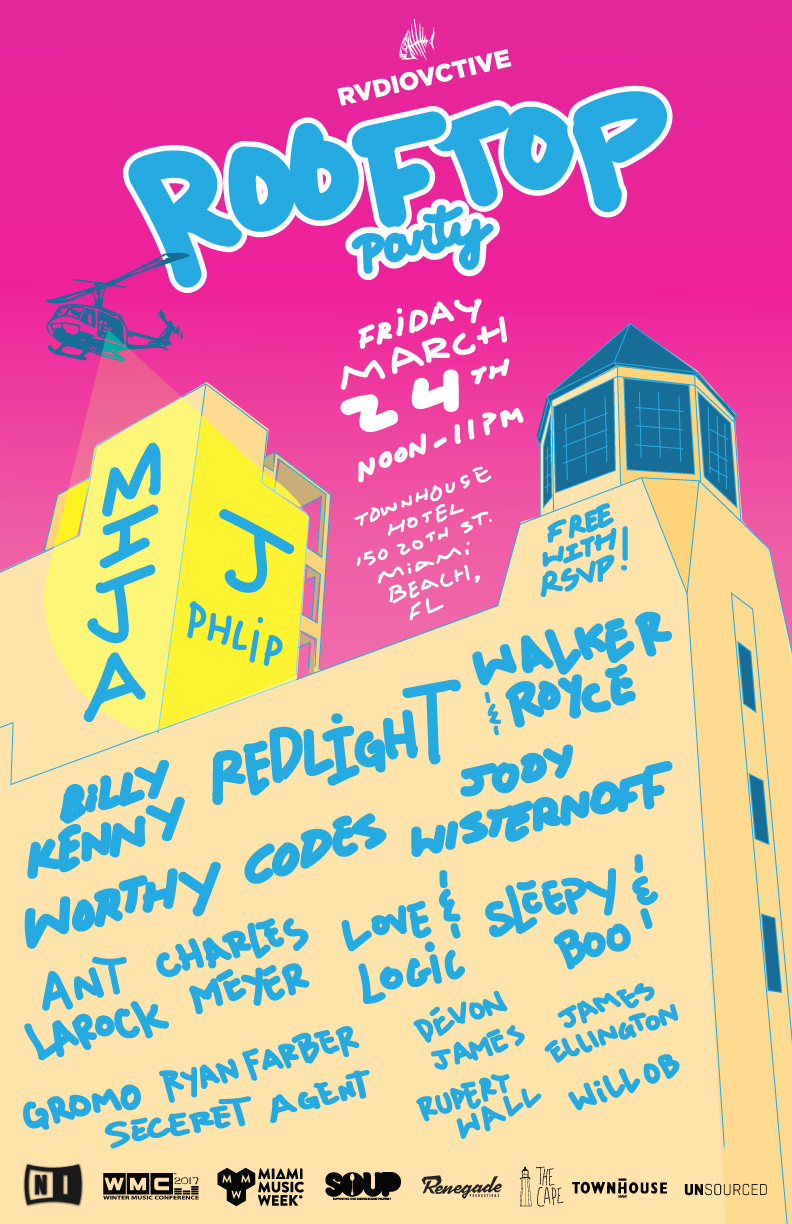 Rvdiovctive-Rooftop-Party-Flyer