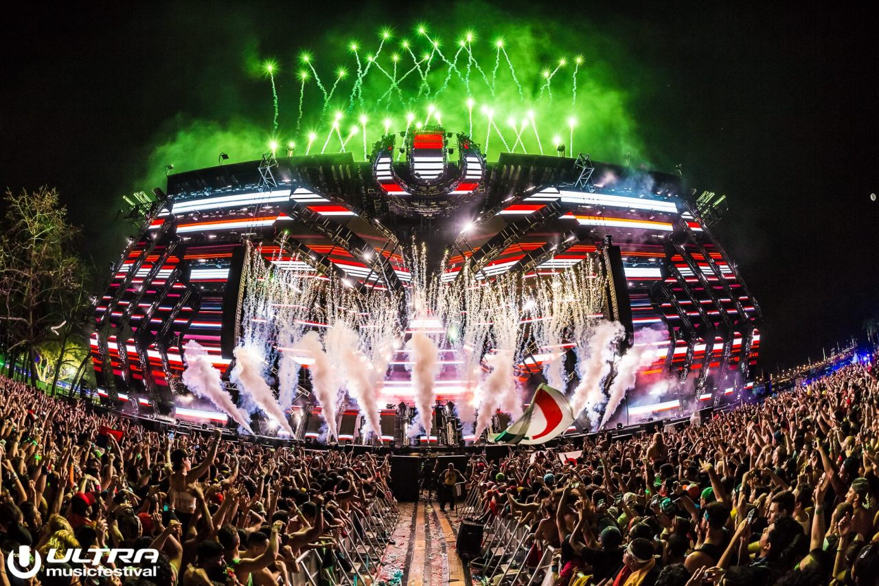 Ultra Music Festival 2017    Cliff's Experience