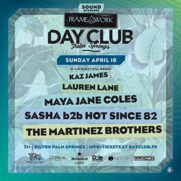 Day Club Palm Springs 2017