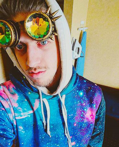 iEDM EDC Outfits Kaleidoscope Goggles