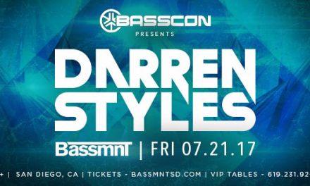 Darren Styles @ Bassmnt || Event Preview