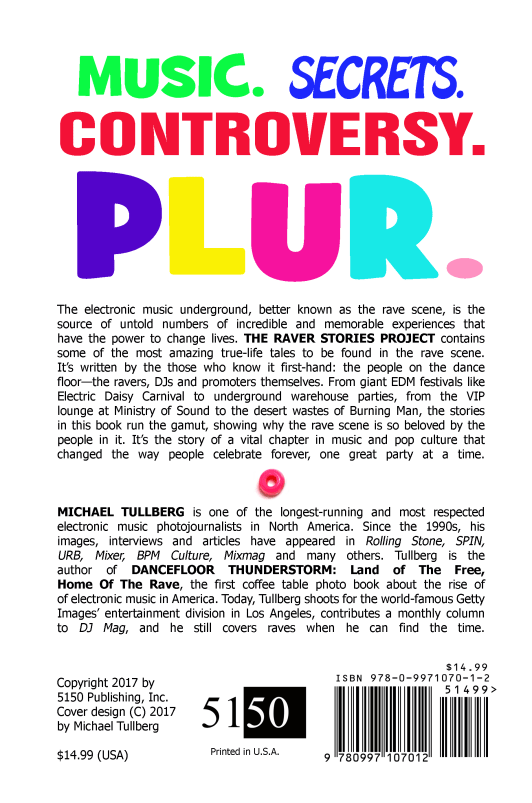 Raver Stories Project Back Cover