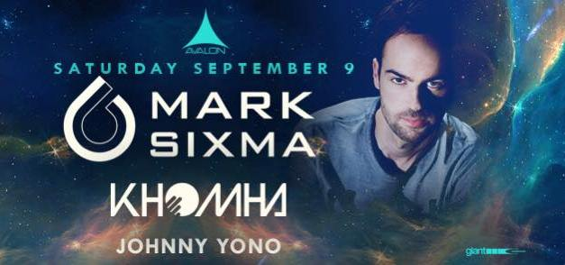 Mark Sixma @ Avalon Hollywood || Preview & Giveaway