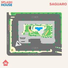 Splash House 2017 August Map Saguaro