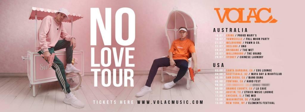 VOLAC No Love Tour