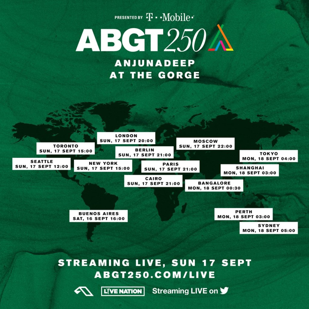 Watch the ABGT250 live stream from The Gorge Amphitheater - Dancing Astronaut