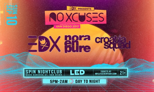 EDX @ Spin Nightclub || Preview & Giveaway