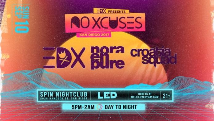 EDX @ Spin Nightclub