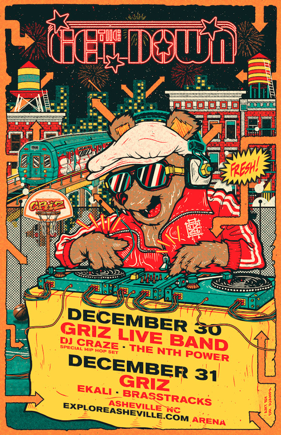 GRiZ The Get Down NYE 2017