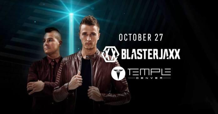 Halloween Blasterjaxx Temple Denver