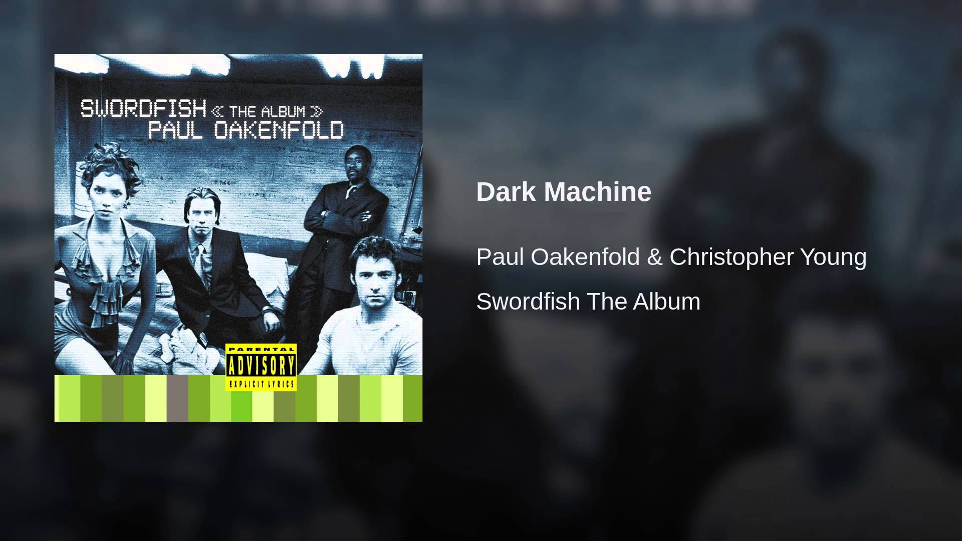 Paul Oakenfold Christopher Young Dark Machine Edm Identity