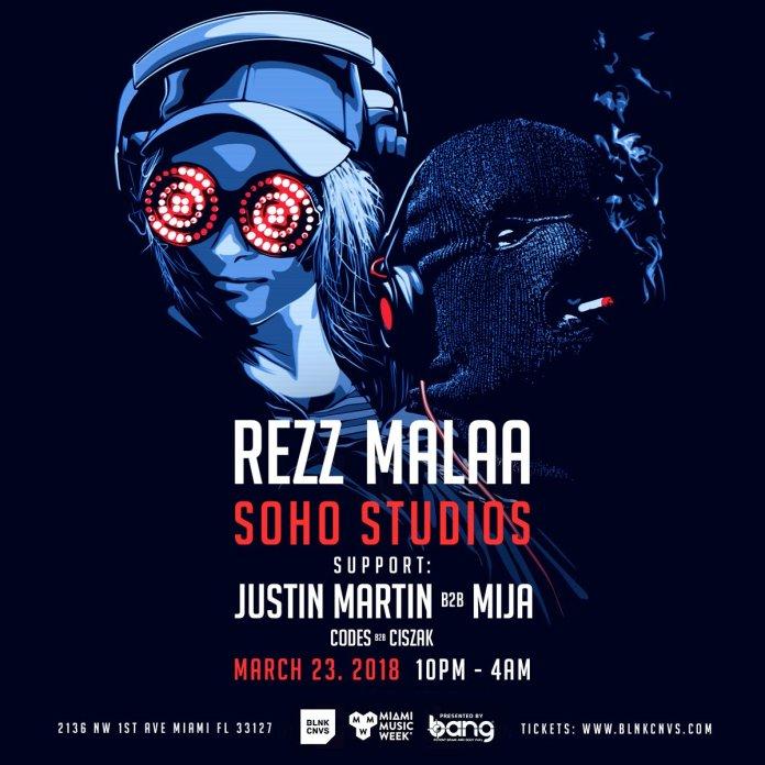 REZZ MALAA SOHO STUDIOS MMW 2018