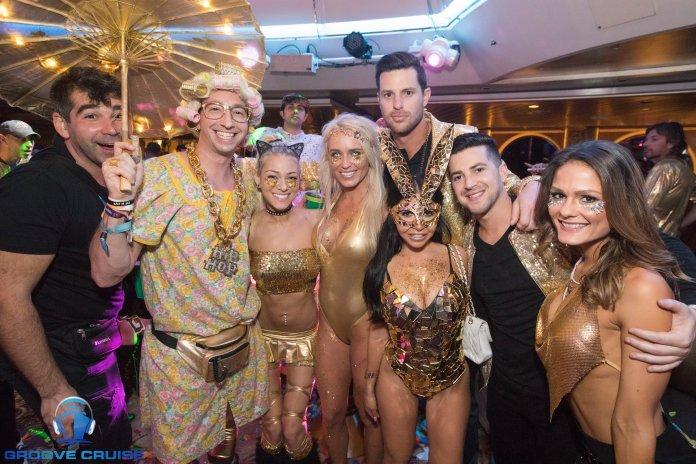 Groove Cruise Miami 2018 Gold Theme