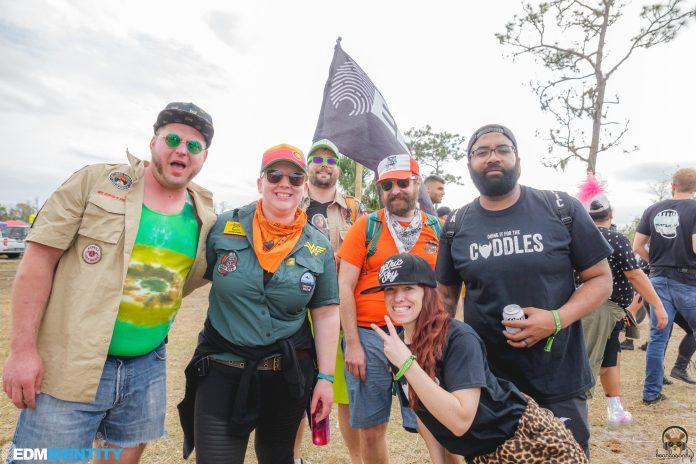 EDMID EDM Identity Team Dirtybird Campout East 2018