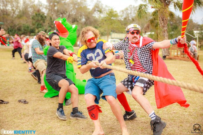 Dirtybird Campout East Coast 2018 Tug o War
