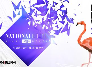 National Hotel MMW 2018 Banner
