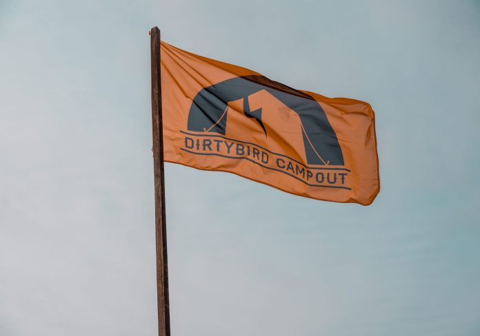 Dirtybird Campout East Coast 2018 Orange Team Flag