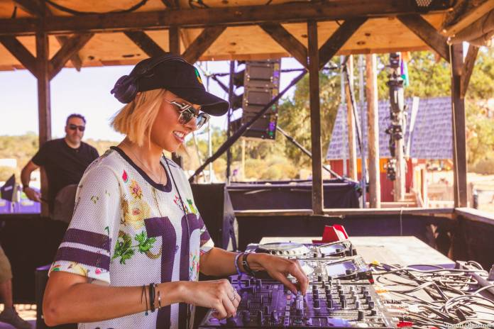Lauren Lane at Dirtybird Campout