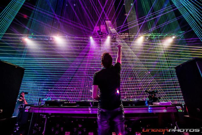 Laserface SF 2018 Gareth Emery