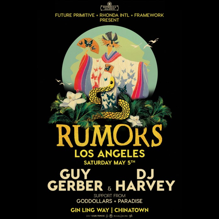 Guy Gerber RUMORS