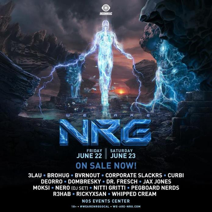 We Are NRG SoCal 2018 Lineup