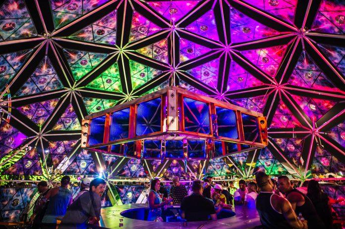 EDC Las Vegas 2018 Camp EDC