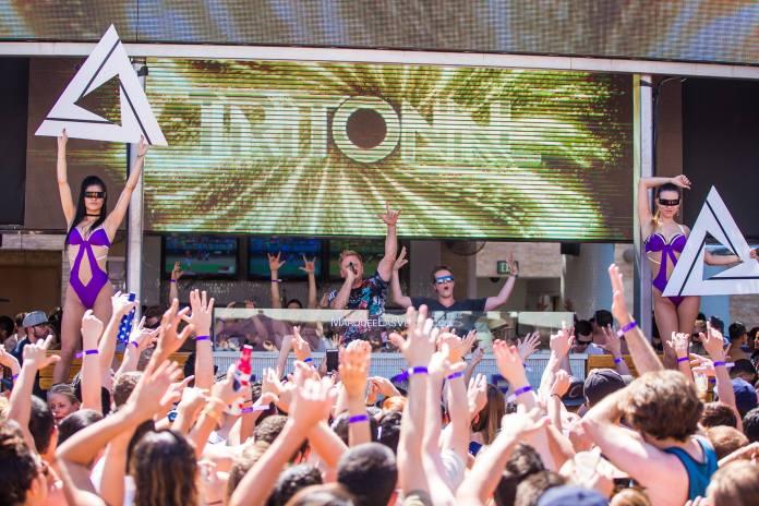 Marquee Las Vegas Dayclub Tritonal