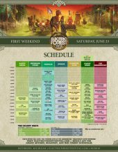 Electric Forest 2018 Wknd 1 Set Times Saturday